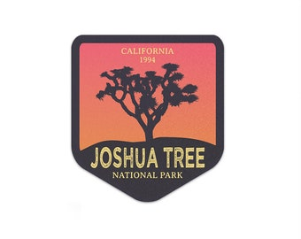 Joshua Tree National Park Sticker | National Park Decal | Multiple Sizes Available