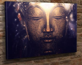 Extra Large Canvas Wall Art Print Picture Buddha