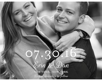 Save The Date / Chic / Digital File