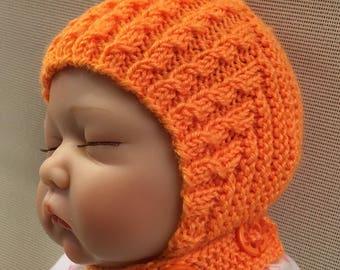 PDF Pattern | Newborn, Instant Download, Baby Bonnet, Pattern Pixie Hat Pattern, Easy Baby Pattern Pixie PDF, Hat Knit Pattern, Pixie DIY