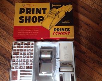 Vintage The Cub Superior Print Shop