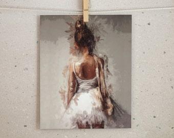 Ballet Print, Ballerina Print, Ballet Art, Ballet Wall Art, Ballet Decor, Ballet Dancer, Nursery Print, Printable Art, Ballet Poster,