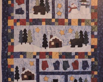 McCall/'s Pattern 7172 BIB QUILT AND BUG APPLIQUES nursery baby shower blanket