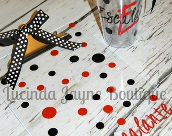 Personalized Clipboard and Matching Acrylic Cup