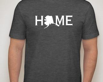 Alaska Home Shirt, Alaska Native, Alaska t shirt, Alaska pride