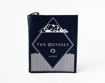 The Odyssey Book Purse Homer Leather Book Bag