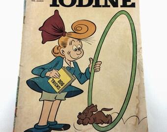 Dell Comic Books Jimmy Hatlo's Little Iodine #55 Jan-Mar 1962