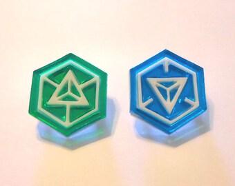 Ingress: Resistance or Enlightened Pins