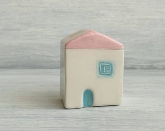 Ceramic House-Gifts for the wedding-miniature-ceramic favors-decoration home-Wedding Favors-Home decor-gifts for her