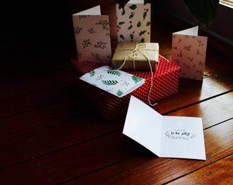 Leaf & Berry Original Christmas Cards (10 Pack)