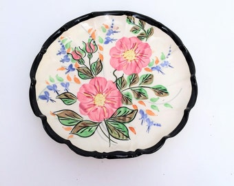 Nasco China USA hand painted  plate