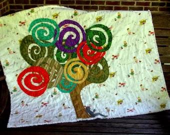 Elizabeth's Tree Quilt Pattern