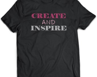 Inspiration T-Shirt. Inspiration tee present. Inspiration tshirt gift idea. - Proudly Made in the USA!
