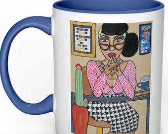 H.B.I.C coffee mug
