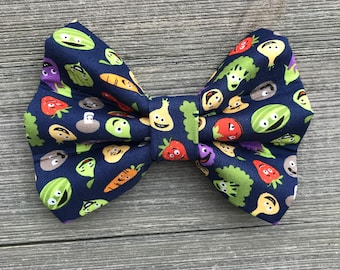Eat Your Fruits & Veggies Bow Tie