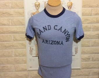 Vintage 1980's Grand Canyon AZ Ringer T-Shirt!!!