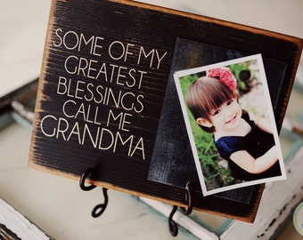 Some of My Greatest Blessings...  Magnetic Picture Board