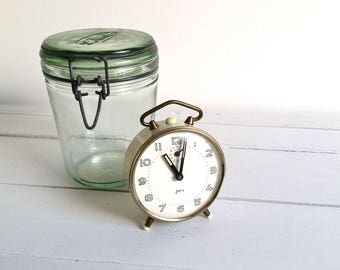Vintage French old alarm clock 'Japy' * vintage French clock * vintage french decoration * old alarm clock * French Japy clock