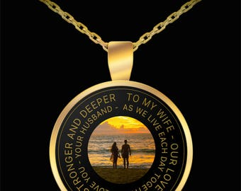 To My Wife Our Love Only Grows Stronger - Necklace