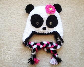 Little Lady Panda Hat - Toddler