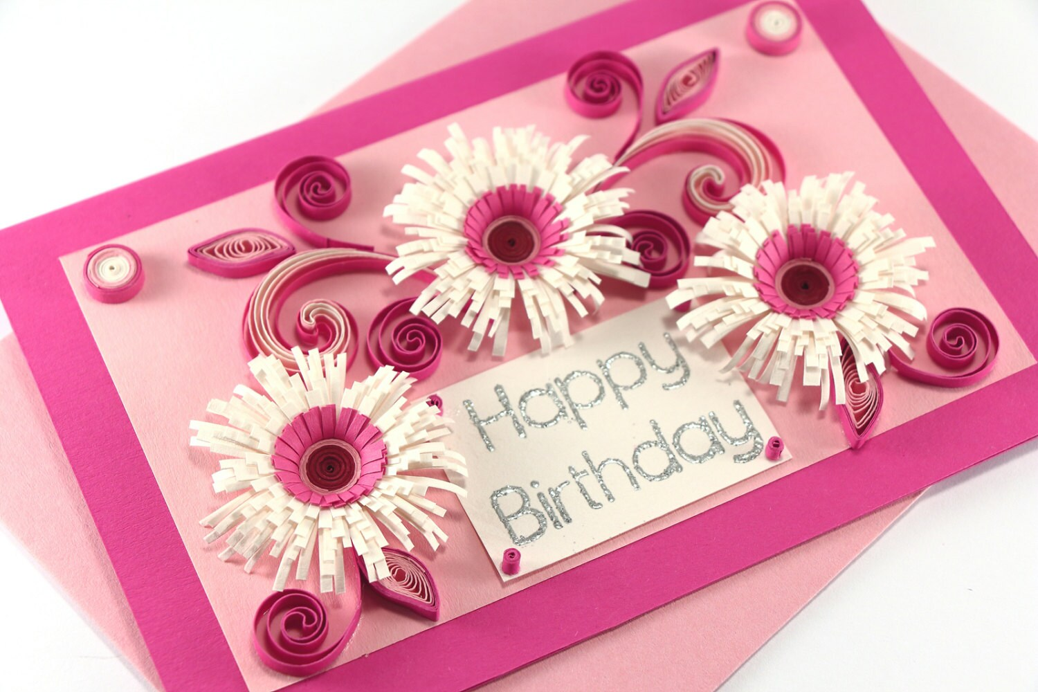 Handmade greeting cards quilling cards christmas note card template happy birthday card mom birthday card girlfriend birthday il fullxfull happy birthday card mom birthday card handmade greeting cards quilling cards kristyandbryce Image collections
