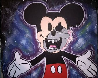 Mikey mouse skull