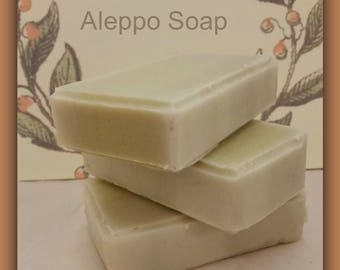 Aleppo Handmade Soap Cold Process Palm free