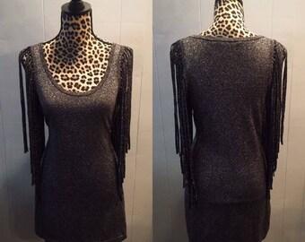 Stevie Nicks Fringe Dress
