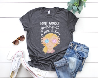 Luna Lovegood Harry Potter Book Spectra Specs Inspired Quote Original Illustrated Unisex T-shirt
