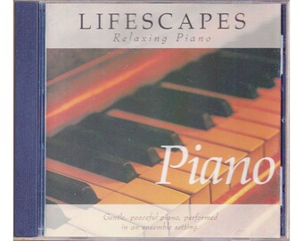 Lifescapes Relaxing Piano by Rob Arthur CD 1996