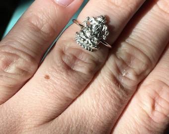 Sterling Silver Ganesha Ring | Elephant Ring | Elephant Jewelry | Yoga Jewelry | Ganesha Jewelry | Stacker Ring | Sterling Stacking Ring