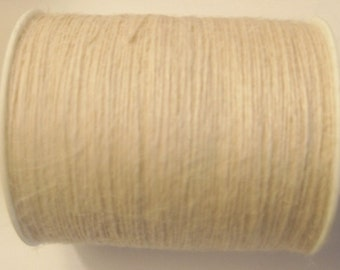 50 Yards of 1mm Ivory Jute Twine