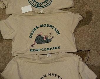Hemp/Bamboo Ozark Hemp Company Logo T-Shirt