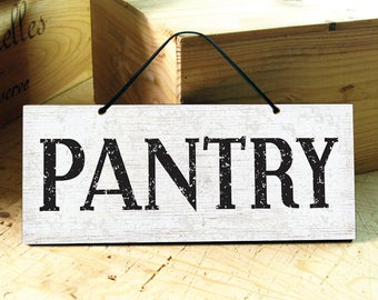 Pantry Sign. Kitchen Signs. Rustic Kitchen Decor. Rustic Signs. Farmhouse Decor. Rustic Home Decor. Mothers Day Gift. Ready to Ship.