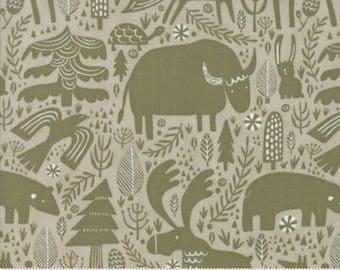 Big Sky Montana Stone Animals 16700 12 by Annie Brady for Moda