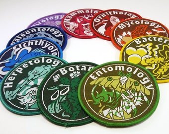 Biological Patches Set