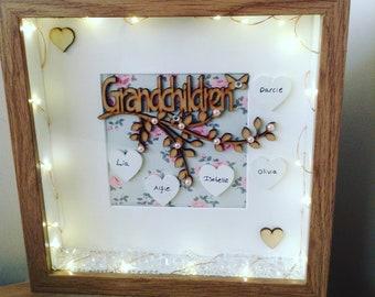 Grandchildren Family Tree Frame