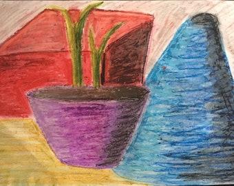 Steady life - pastel art