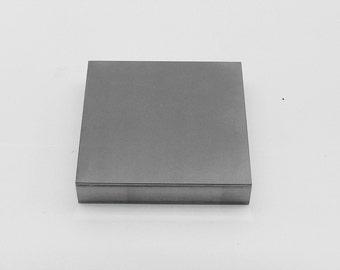 Steel Bench Block - 4 x 4 x 3/4 Inch