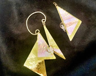 Fabulous One of A Kind Ear Cuff and Earring