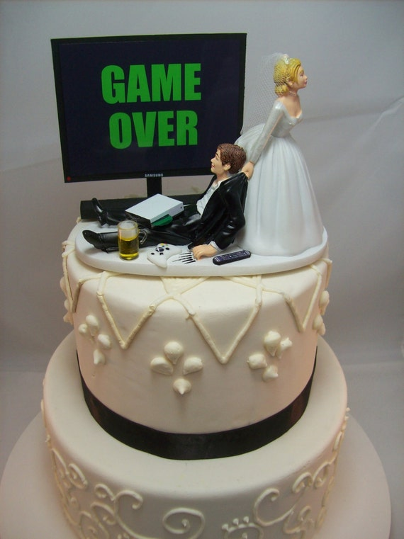 xbox wedding cakes or any image wedding cake topper custom 27676