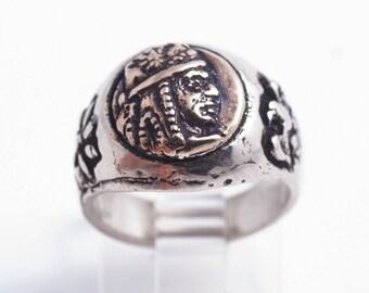Tigran The Great V3Sterling Silver Ring
