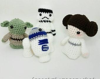 Handmade Star Wars dolls