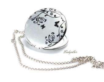 Photo Locket  - Butterfly in the fairy tale forest