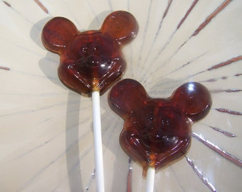 15 Famous Boy Mouse Lollipops Sucker Party Favor Candy