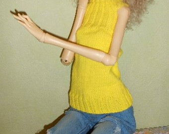 BJD Doll Chateau Adult SD doll handmade knitted wool shirt