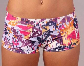 Yoga, Shorts, Women's Shorts, Girls Shorts, Yoga Clothes, Yoga Clothing, Print Shorts, Summer Shorts, Cute Shorts, Printed Shorts, in Marla