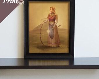 Canvas Zelda Print