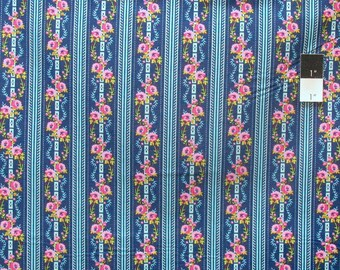 Jennifer Paganelli PWJP067 Happy Land Martha Midnight Cotton Fabric By Yard