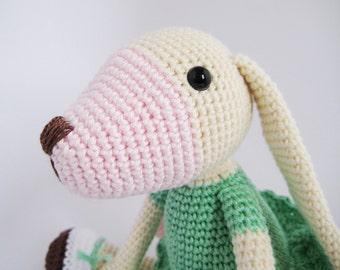 Long-eared Dog Crochet Toy PATTERN